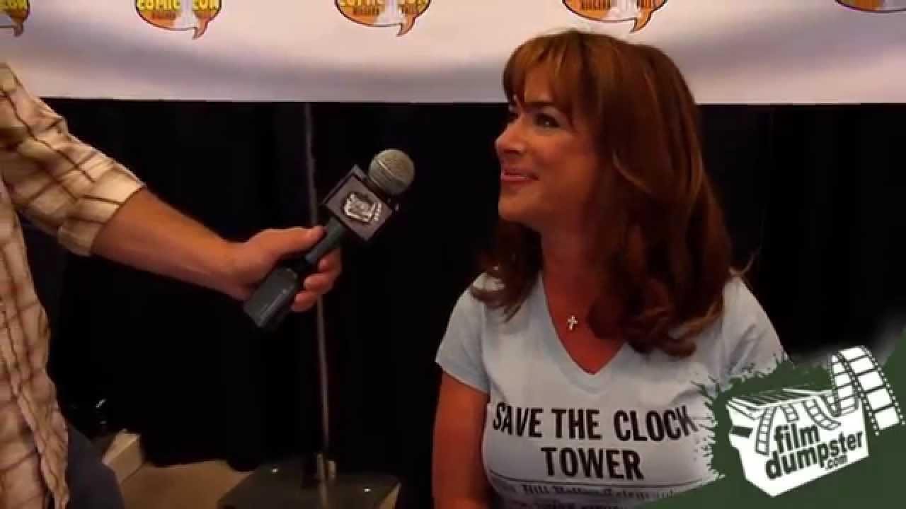 Niagara Falls Comic Con 2014 Claudia Wells Interview