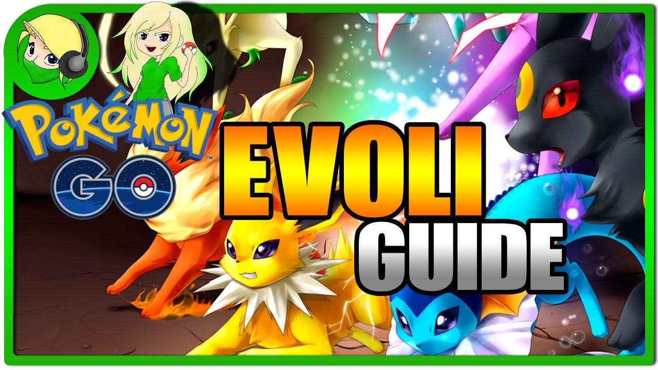 Pokemon Go Evoli Entwickeln
