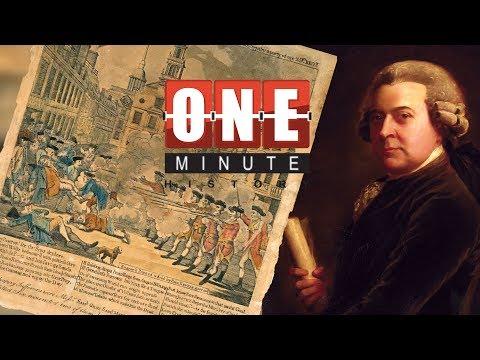 John Adams And The Boston Massacre - American Revolutionary War - One Minute History
