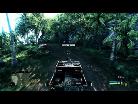 Crysis Walkthrough Level 1 - Contact [HD]