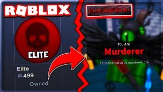 😈 I'VE BEEN JOINING IN A Row GIVING 500 ROBUX !! (ELITE) 😈 | Roblox Murder Mystery 2 | Roblox English