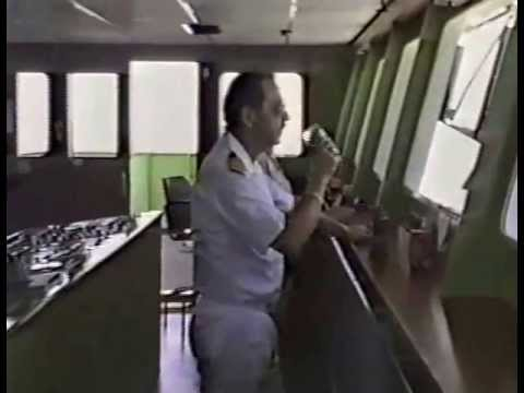 Docking ships by Harbour Pilot. Video#1