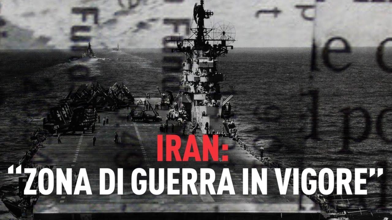 "PTV News - 19.07.19 - Iran ""zona di guerra in vigore"""