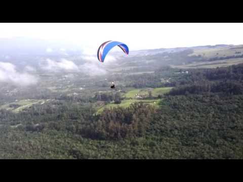 Paragliding on Maui 2013