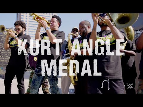 Kurt Angle's theme played by New Orleans brass band