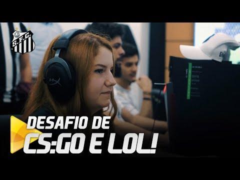 E-SPORTS: SANTOS CONVIDA SÓCIOS PARA JOGAR CS:GO E LOL