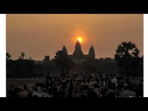 Equinox 2013 over Angkor Wat, Cambodia