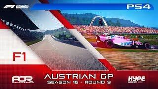 F1 2018   AOR Hype Energy F1 League   PS4   S16   R9: Austrian GP