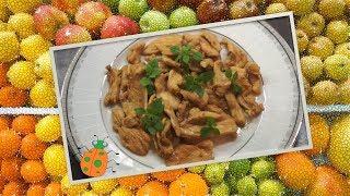 Рецепт №1. Курица в соевом соусе, с чесноком и кориандром