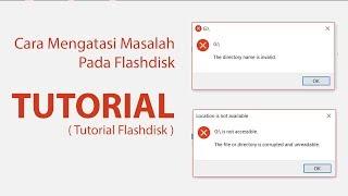 Cara Mengatasi Masalah Pada Flashdisk