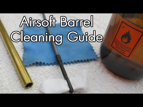 How to Clean an Airsoft Barrel