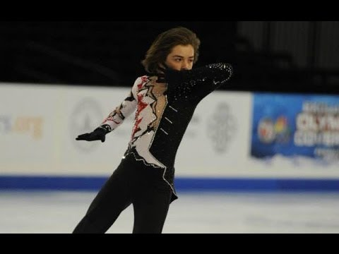 Kellen Johnson 2014 US Figure Skating Champion SP (Intermediate Men)