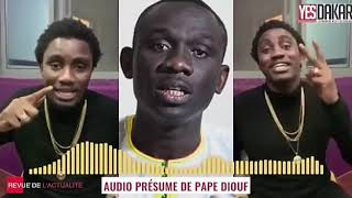 AFFAIRE PAPE DIOUF ET WALLY SECK LES CHOSE ONT ECRASER MAINTENANT