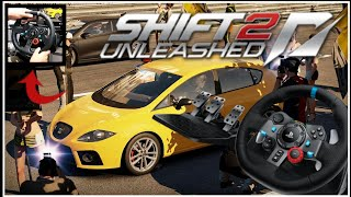 NFS: Shift 2 Unleashed + VOLANTE LOGITECH G29 |  [ PC - Gameplay ] 60FPS ᴴᴰ