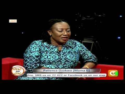 One on One with Patience 'Mama G' Ozokwor