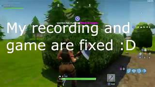 HOW TO FIX FORTNITE FRAME LAG!! WORKING!! (NVIDIA CARDS ONLY) OutDated Video
