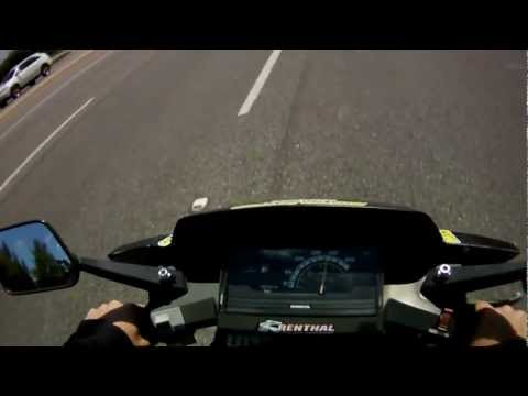Honda CH80 Elite Scooter Top Speed Run Motor Psycho Sport