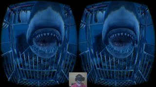 Sea Monster | Google Cardboard 3D SBS | Oculus Rift  | Sharks & Other Crazies!