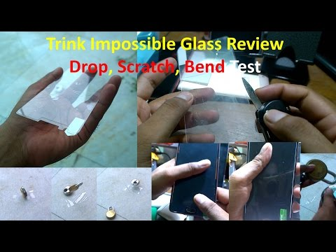 trink impossible tempered glass test (Oneplus3, Oneplus 3T, Review, Unboxing, Installation)