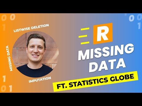 How to Handle Missing Data in R (Ft. @Statistics Globe)