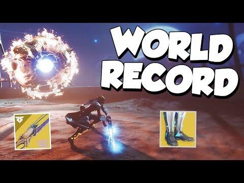 Warden of Nothing Speedrun WR! 5:59 [Destiny 2]