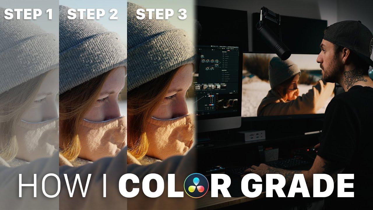 Download My Davinci Resolve Color Grading Process - Simple & Effective!