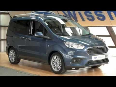 Ford Tourneo Courier Titanium Taclke54652 Chroma Blau Autohaus Wissmann Youtube