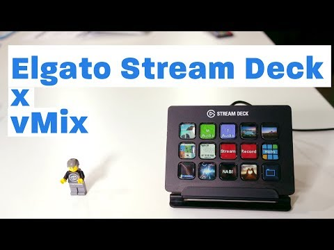 Controlling vMix with the Elgato Stream Deck