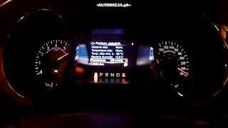Ford Mustang GT 5.0 V8 421 hp acceleration 0-100 km/h, 0-200 km/h, 0-250 km/h, 0-400 m, racelogic