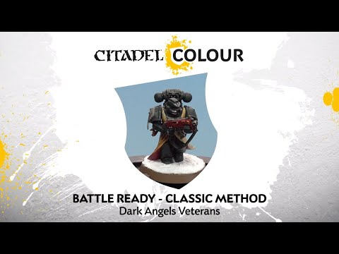 How To Paint: Battle Ready Dark Angels Veterans – Classic Method