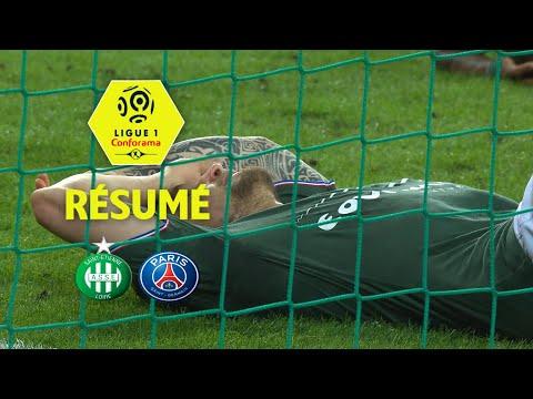 AS Saint-Etienne - Paris Saint-Germain ( 1-1 ) - Résumé - (ASSE - PARIS) / 2017-18