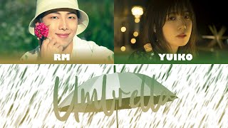 BTS Rm & Yuiko - Umbrella (Cover) Color Coded Lyrics