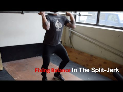 HOW TO FIX YOUR BALANCE IN THE SPLIT-JERK WITH JAMES WRIGHT | JUST A MOMENT WITH THE COACH