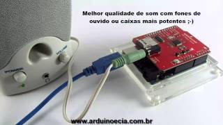 Arduino e Cia : MP3 Shield Sparkfun