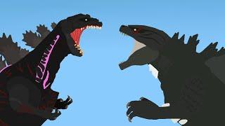 Godzilla Vs Shin Godzilla (Clickbait, read the description before you react)
