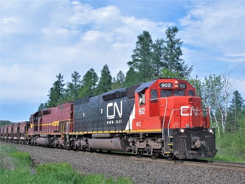 CN Trains of Minnesota's Iron Range
