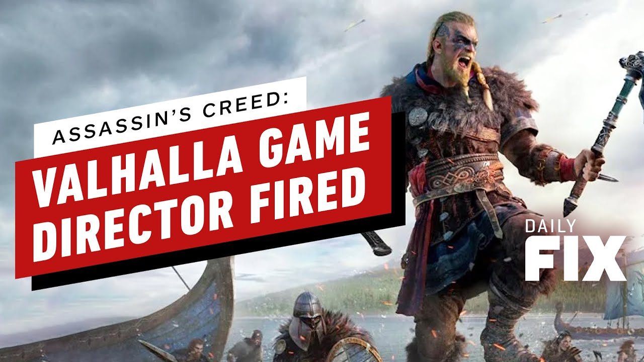 Assassin's Creed: Valhalla Director Fired After Ubisoft Investigation - IGN Daily Fix thumbnail