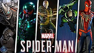 Spider-Man PS4 - Boss Battles and Sinister Six Details!