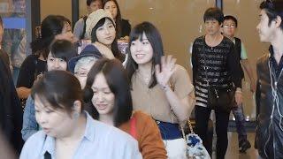在台灣桃園機場第一航廈.