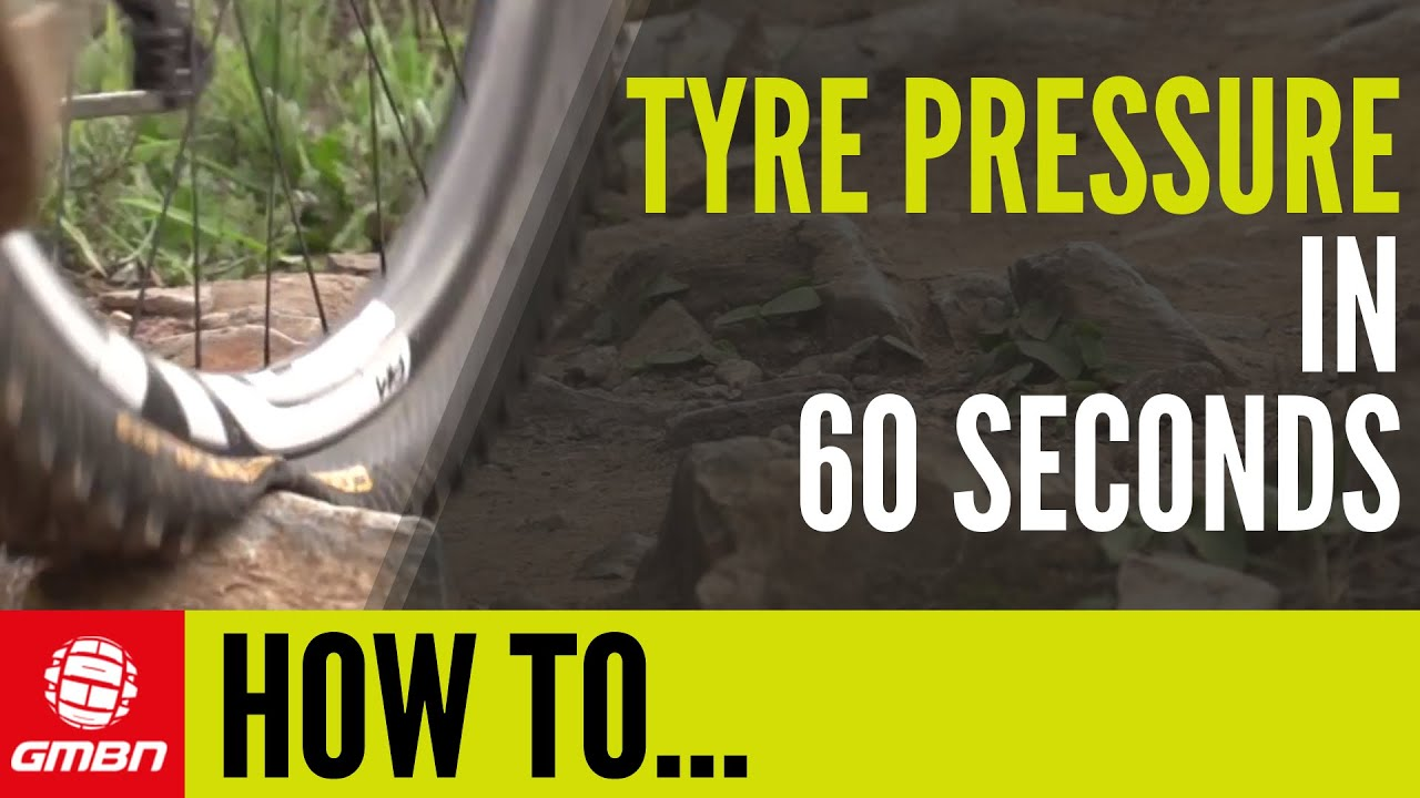 Tire Pressure Gauge >> How To Set MTB Tyre Pressure In 60 Seconds - YouTube