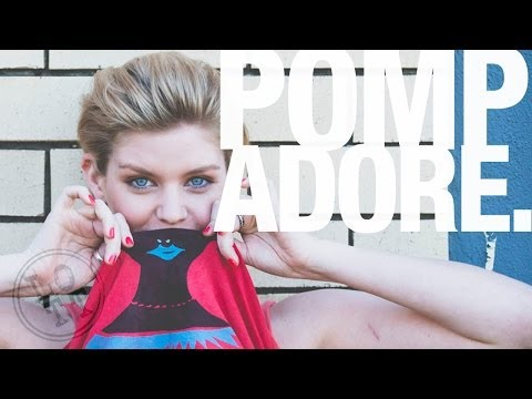 How To Do Girl's Short Hair Quiff or Pomp | Female Hairstyle | Lil Off the Top