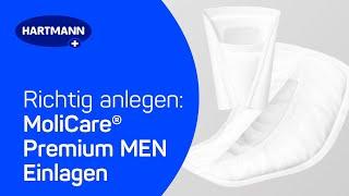 Produktvideo zu Inkontinenz-Einlagen Hartmann MoliCare Premium MEN PAD active