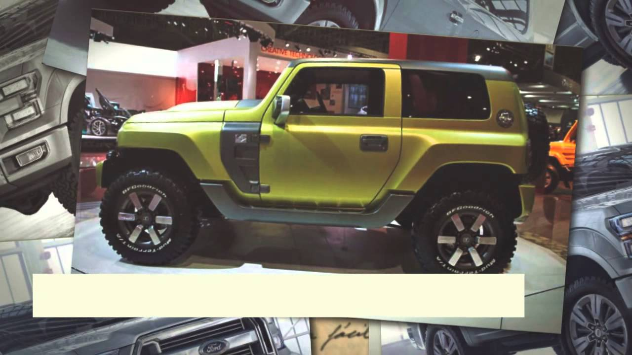 Ford Bronco 2016
