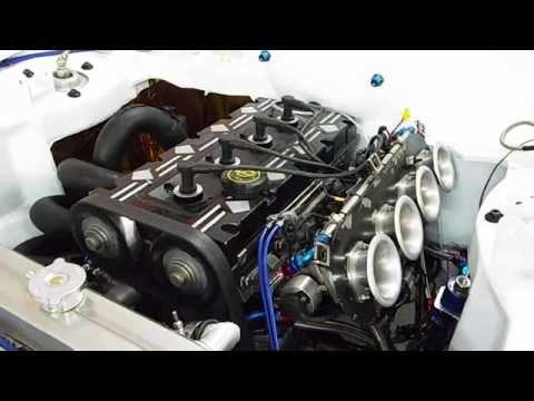 First Start Up Millington Diamond Motorsport Engine Rally Escort Mk2