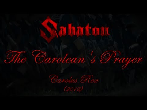 Sabaton - The Carolean's Prayer (Lyrics English & Deutsch)