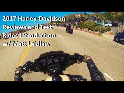 2017 Harley-Davidson Reviews and Test Rides Introduction
