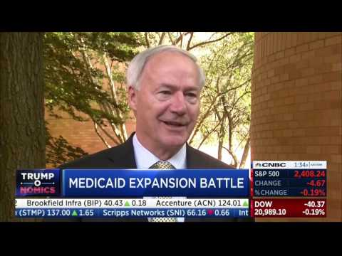 CNBC - Medicaid Expansion in Arkansas - 5/31/17