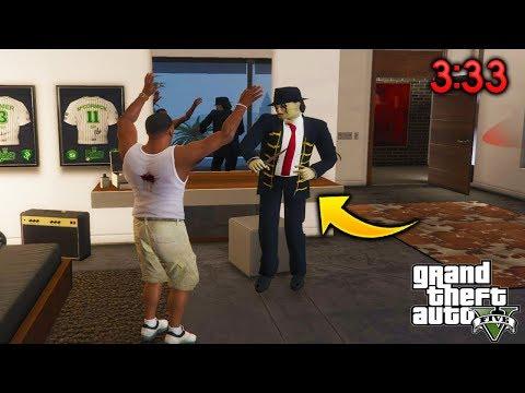 Invocando Al Ayuwoki A Las 3:33AM En GTA 5 Terror Mod