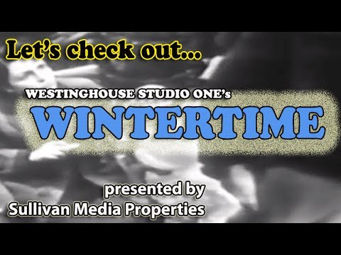 Studio One: Wintertime || a classic TV encore featuring Anne Bancroft