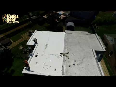 TPO roofing system installion in Bristol Pennsylvania